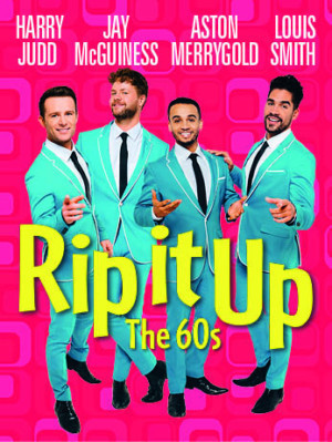 Harry Judd, Aston Merrygold, Jay McGuiness and Louis Smith Lead RIP IT UP - THE 60s