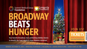 Norbert Leo Butz, Kyle Dean Massey, and More Will Perform at Paper Mill's Broadway Beats Hunger