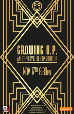 GROWING UP: A Funny Improv Fundraiser Announced At TheatreSports