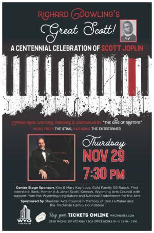 Richard Dowling Celebrates Scott Joplin at the WYO