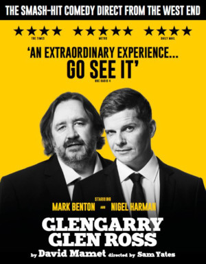 Denis Conway,Wil Johnson, and More Cast in The UK Tour Of GLENGARRY GLEN ROSS