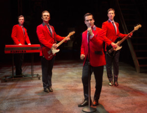 JERSEY BOYS Tributes Four Charities At The Regent Theatre