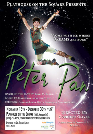 Playhouse on the Square Presents PETER PAN