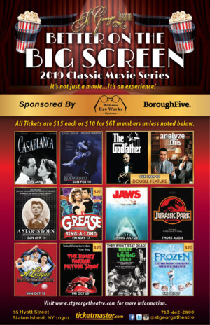 St. George Theatre Announces First-Ever Classic Movie Series To Commemorate 90th Anniversary