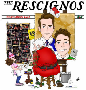 THE RESCIGNOS: MERRY CHRISTMAS TO PAUL, AND TO PAUL A GOOD NIGHT Comes to the Duplex