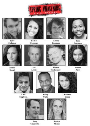 Cast Announced For Theatre Nebula's SPRING AWAKENING