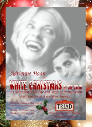 Adrienne HaanStars In WHITE CHRISTMAS atthe Triad