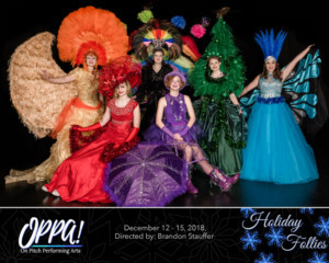 THE HOLIDAY FOLLIES Opens At On Pitch Performing Arts
