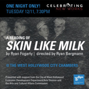 Celebration Presents SKIN LIKE MILK As Part Of Its Celebrating New Works Series