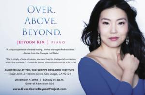 Classical Pianist Jeeyoon Kim Presents Album Release Concert At TSRI/ La Jolla