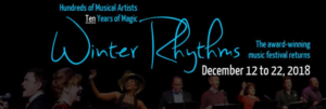 Urban Stages' Award Winning Series WINTER RHYTHMS Begins Performances Tomorrow