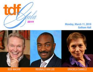 Bob Mackie and Reginald Van Lee Will Be Honored At TDF's 2019 Gala
