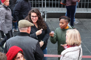 #NotALabRat: Actors' Equity Members Talk To Holiday Crowds About Need For New Lab Agreement