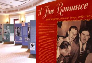 Traveling Exhibit Celebrates Jewish Songwriters