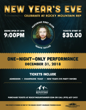 Celebrate New Year's Eve at Rocky Mountain Repertory Theatre!