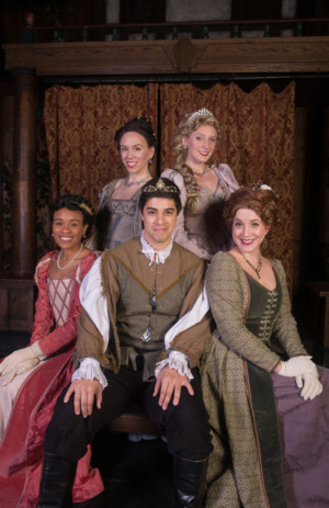 The Atlanta Shakespeare Company at The Shakespeare Tavern Playhouse Presents LOVE'S LABOUR'S LOST