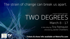 Tesseract Theatre Opens New Play Two Degrees This March!