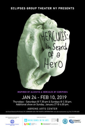 Eclipses Group Theater At Abrons Arts Center To Present HERCULES: IN SEARCH OF A HERO