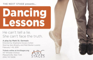 Arc Stages Presents DANCING LESSONS By Mark St. Germain