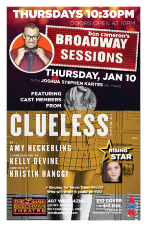 Broadway Sessions Welcomes Cast Members From CLUELESS For Season Kick Off