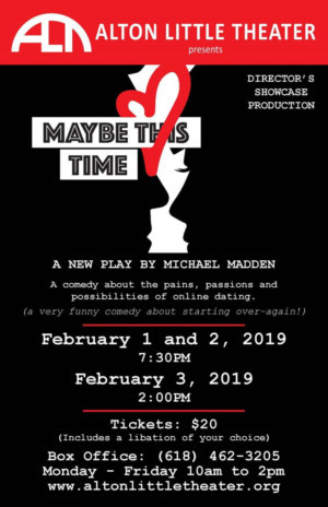 STL's Madden Returns With MAYBE THIS TIME At Alton Little Theatre