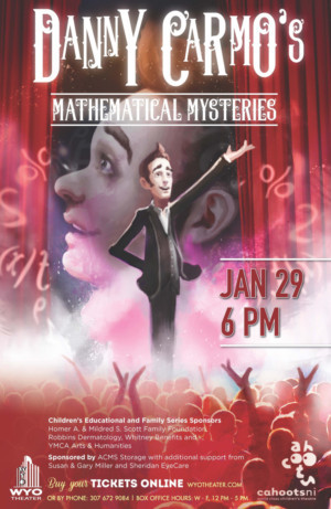 WYO Theater Presents MATHEMATICAL MYSTERIES