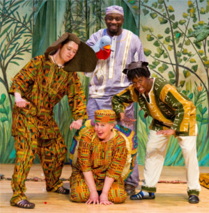Wild Swan Theater Presents UNDER THE AFRICAN SKY