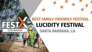 Lucidity Festival Recognized As World's Best Family Friendly Festival At 2018 FestX Awards
