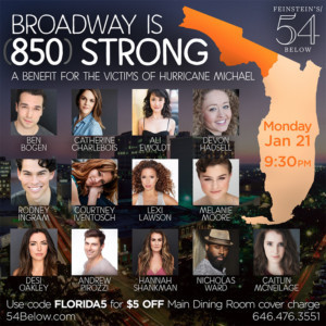 Melanie Moore And Rodney Ingram Join Lineup of BROADWAY IS 850 STRONG Benefit Concert