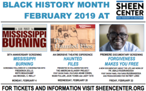Celebrate Black History Month At The Sheen Center