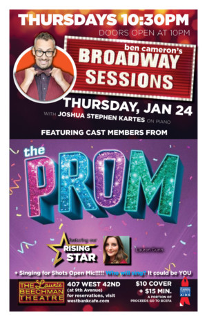 THE PROM Comes To Broadway Sessions, Today