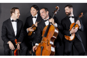 Miro Quartet, Cellist Clive Greensmith Perform Schubert's Immortal Cello Quintet Feb. 9
