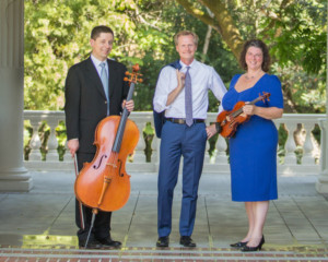 Montalvo Arts Center Presents Afternoon Concerts With The Saint Michael Trio In Villa Chamber Music Series