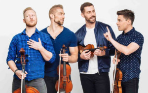 A WELL-STRUNG VALENTINE Brings Popular Singing String Quartet To Parker Playhouse