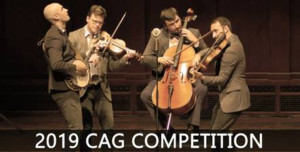 Applications Now Open For The 2019 Concert Artists Guild Competition