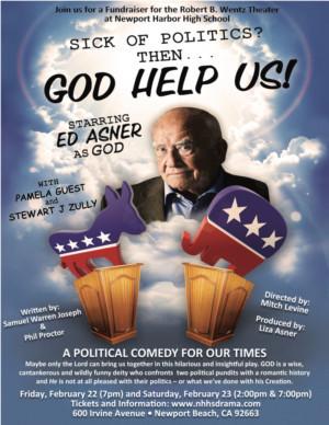 Ed Asner Stars As God In GOD HELP US!