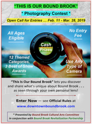 THIS IS OUR BOUND BROOK Photo Competition Opens February 11