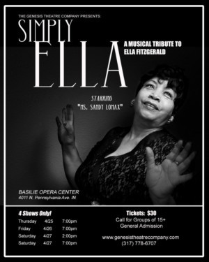 Genesis Theatre Company Presents SIMPLY, ELLA