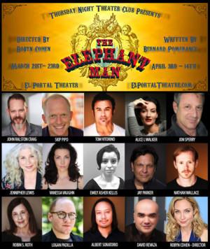 Full Cast Announced For THE ELEPHANT MAN At El Portal Theatre