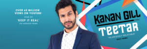 Kanan Gill- Indian Stand-Up Comedian Announces Debut Australian Shows This April
