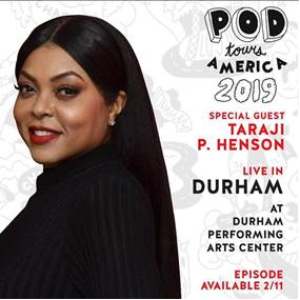 Taraji P. Henson To Be Special Guest At POD Tours America This Sunday At DPAC