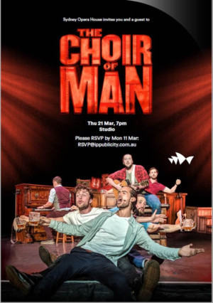 THE CHOIR OF MAN Comes to Sydney