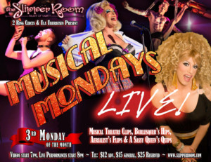 MUSICAL MONDAYS: LIVE! Return February 18 At The Slipper Room!