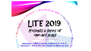 LITE 2019 Presents A Festival Of One-Act Plays
