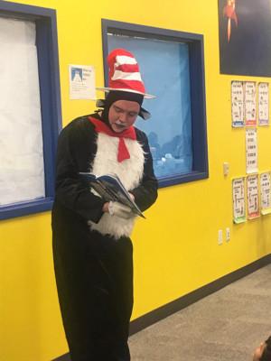 Main Street Theater Hosts Read Across America Day