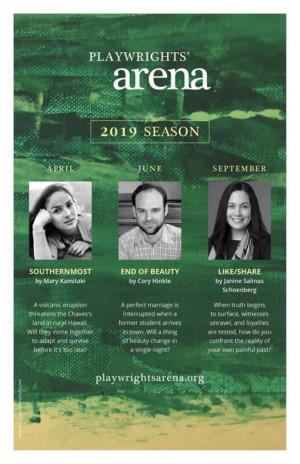Playwrights' Arena Announces 2019 Season