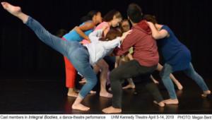Kennedy Theatre Presents Dance-Theatre Performance INTEGRAL BODIES