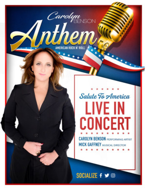 ANTHEM, A New Rock-n-Roll Musical Tribute Honoring Our Armed Forces, Will Tour in 2019