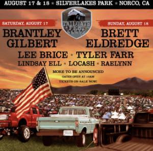 c67a3021280 Tailgate Fest 2019 Announces Brantley Gilbert And Brett Eldredge As  Headliners