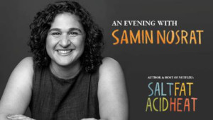 Samin Nosrat, Author And Host Of SALT, FAT, ACID, HEAT Comes To The Colonial In May